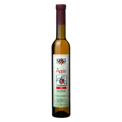 King's Court Estate Winery 2017 Iced Apple Wine