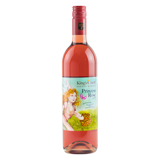 King's Court Estate Winery 2017 Princess Rosé