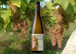 King's Court Estate Winery Queen Riesling