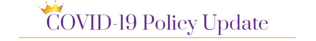 COVID-19 Policy Update Website image
